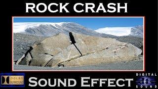 Rock Crash Sound Effect   ROCK CRASH SFX   HD