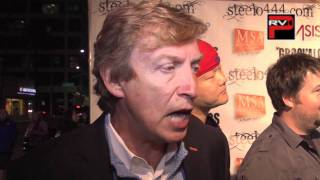 Nigel Lythgoe interview at the Steelo Fundraiser held at Saban Theater