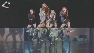 [MASHUP] BLACKPINK & 방탄소년단 (BTS) - 휘파람 (WHISTLE) X 불타오르네 (Fire)