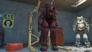 Fallout 4 Mod showcase - Ultimate Robot Sound(GUNDAM SFX TO PA AND LASER RIFLE!!)