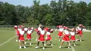 GYFL 2008 Cheerleaders