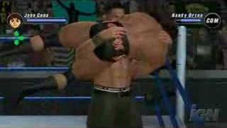 SvR 08 John Cena Vs. Randy Orton