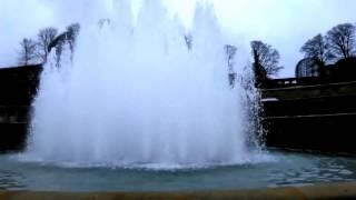 Alnwick Grand Cascade lower fountain