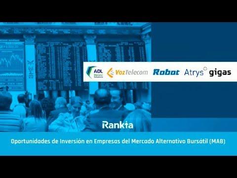Oportunidades de Inversión en Empresas del Mercado Alternativo Bursátil (MAB) - Online
