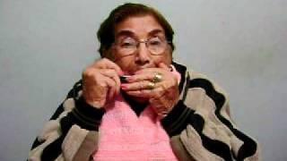 Dona Judith com 86 anos da show de gaita de boca