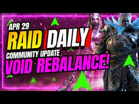 CRAZY Void Balance Changes! | RAID Shadow Legends