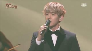 "161231 BAEKHYUN EXO ""For You"" OST Moon Lovers: Scalet Heart Drama Awards 720p"