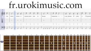 Cours de Guitare Igit L'homme bon Partie#1 Partitions Mélodie Сhansons Tuto Comment Jouer Tab Tablat