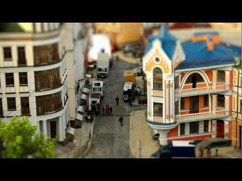 Kiev Kyiv tilt shift Киев тильт шифт видео Ukraine 2012 – Mark Pestickov MiniLook