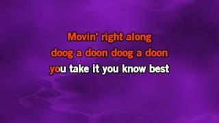 The Muppets - Movin Right Along Karaoke