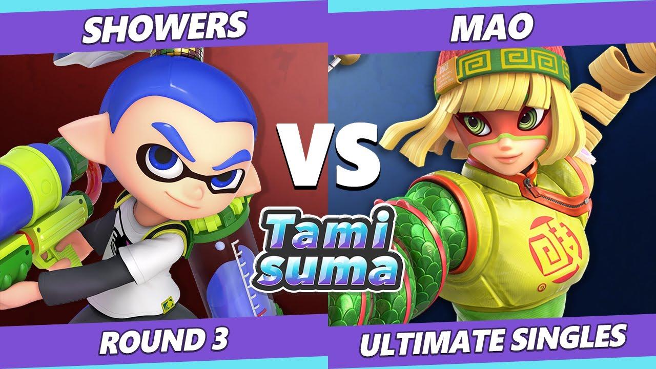 VGBootCamp - TAMISUMA 219 Round 3 - Showers (Inkling) Vs. Mao (Min Min) SSBU Smash Ultimate