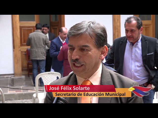 SECRETARÍA DE EDUCACIÓN MUNICIPAL SE INSTALÓ OFICIALMENTE EN LA 'CASONA DE LA EDUCACIÓN'