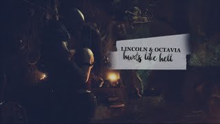 ► Lincoln & Octavia | Hurts Like Hell [+ 3x09]