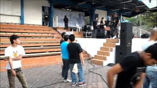 SENTUL AND THE PAPER CUTTER- SKETSA ROCKSTAR  tribute to pertandingan raja bang kuala lumpur 2012