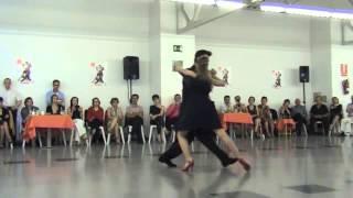 Javier Rodriguez y Noelia Barsi. Café Domínguez. Valladolid, Tango Salón