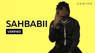 "SahBabii ""Purple Ape"" Official Lyrics & Meaning   Verified"