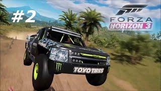 Forza Horizon 3 (Xbox One) Baldwin Motorsports #97 Monster Energy Trophy Truck - #2