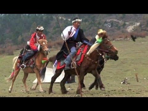 History of Nepal ARCHERY Festival at SAMAGAU MANASLU