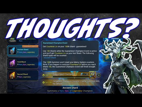 150 shards for a GUARANTEED legendary! Raid shadow legends Countess lix event