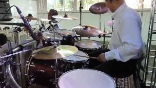 Enche-nos -  Vanilda Bordieri & Elaine de Jesus - Drum Cover