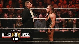 WALTER debuts by crashing Pete Dunne's victory celebration: NXT UK TakeOver: Blackpool (WWE Network)