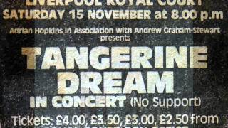 Tangerine Dream - Live Liverpool 15-11-1980 - Interval Announcement