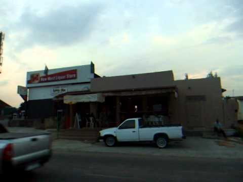 One Second of New West Liquor Store – Soweto – South Africa – January 2011