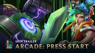 Arcade 2015: PRESS START | Skins Trailer - League of Legends