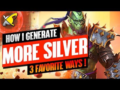 GENERATE MORE SILVER | My 3 Favorite Ways !! | RAID: Shadow Legends
