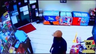 Idiot Suspect Attempts to Disarm Security Guard | Active Self Protection