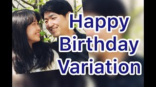 생일축하노래 바이올린듀오 Happy Birthday Variation  Violin Duet.