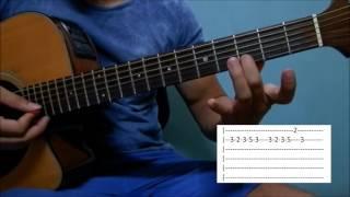 Evidências - Chitãozinho e Xororó aula solo violão