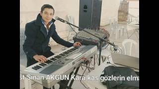 Piyanist sinan Akgün kara kaş gözlerin elmas..