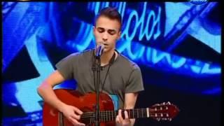 Diogo Piçarra - Ídolos 2012 - Casting IV