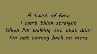 Emilia - twist of fate + lyrics