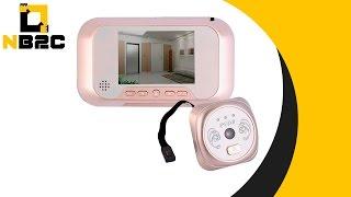 Campainha Digital Olho Mágico Espião Câmera 3mp Cartão E56