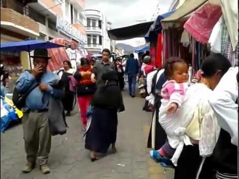 Otavalo Market by Campus Trekking Tour Operator – Ecuador – mp4