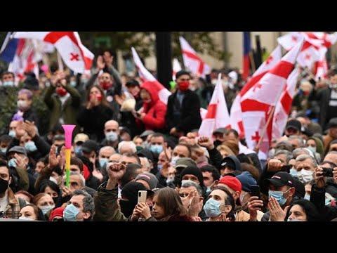 proteste Georgia Tbilisi