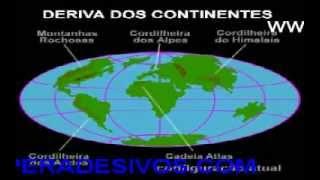 Pangéia teoria da deriva continental