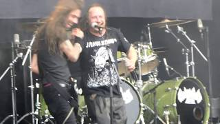 Entombed A.D. - Revel In Flesh - live @Dynamo Metalfest Eindhoven, the Netherlands, 15 July 2017