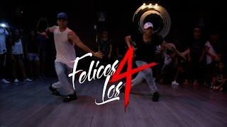 Felices los 4 - MALUMA | Coreografía | Choreography by @jeremyiturri y @pato_quinones
