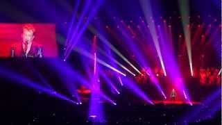 Johnny Hallyday - Diego @ Sportpaleis Anvers 08-06-12