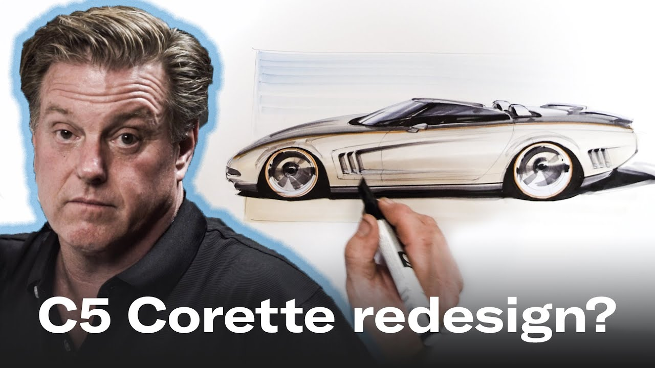 Watch as Chip Foose pens his own vision of the Chevrolet C5 Corvette thumbnail