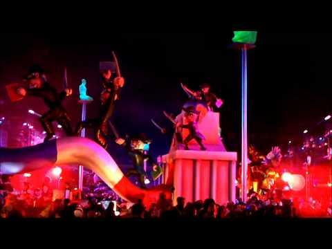 Putin Путин Hollande Merkel – Carnaval Nice Carnival 2013 corso nightshow