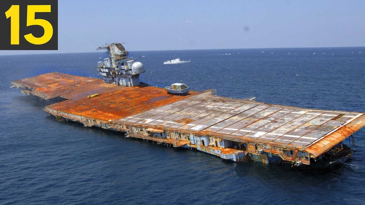 15 Abandoned Ships that You can Actually Visit
