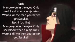 Itachi Uchiha Rap Lyrics   Eddie Rath
