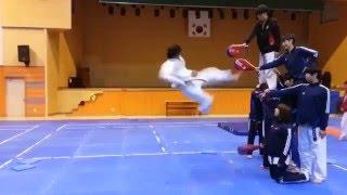 Awesome kick !