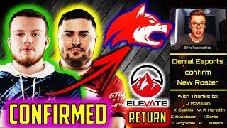 ELEVATE Return & DENIAL acquire ex-Red Reserve! | CWL Pro Rostermania | CoD BO4 Competitive