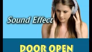 sound effect door open