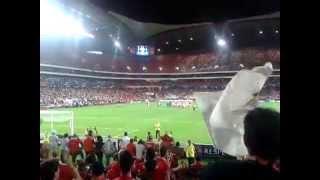 Eu amo o Benfica (Benfica Vs zenit) 16-09-2014